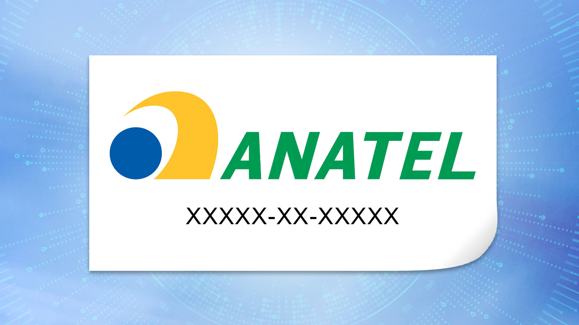 Label of the Anatel Certification