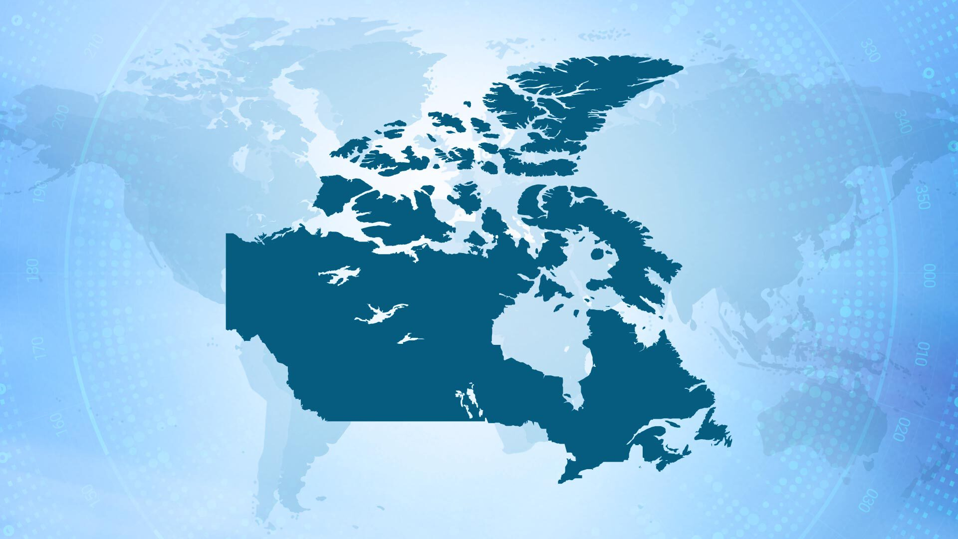 Map of Canada where marketing approvals must be performed by a recognized FCB.