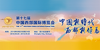 Banner of the 17th Western China International Fair (WCIF)